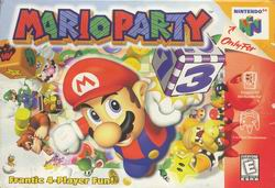 Mario Party (USA) Box Scan